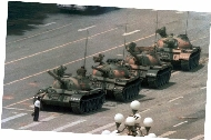 The tank-man Beijing 1989